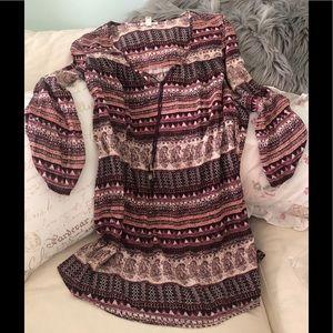 Billabong Gypset Dress/Cover-Up Oversized Fit